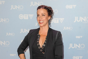 Alanis Morissette Arrivals at the JUNO Awards