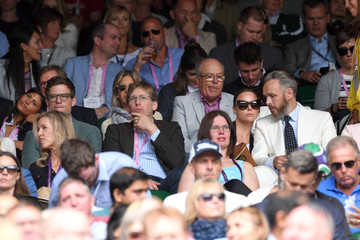 Alasdhair Willis The Evian Live Young Suite on Day 11 of the Championships at Wimbledon 2017