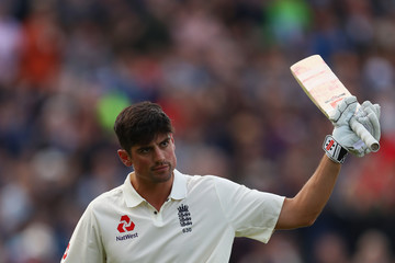 Alastair Cook England v West Indies - 1st Investec Test: Day Two