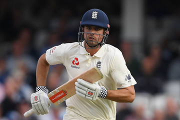 Alastair Cook England vs. India: Specsavers 5th Test - Day Three