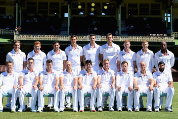 Alastair Cook Michael Carberry CA Invitational XI v England: Day 2