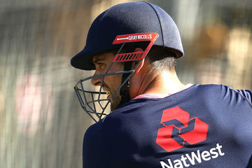 Alastair Cook England Nets Session