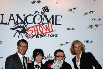 Alber Elbaz Arrivals at the Lancome Party in Paris