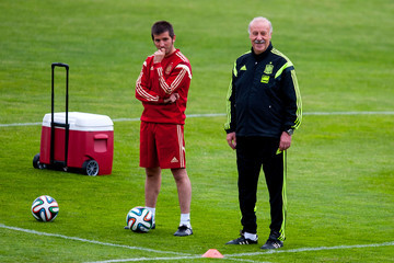 Albert Celades Spain Training Session