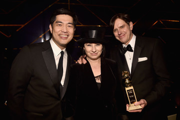 Albert Cheng Amazon Studios Golden Globes Celebration - Inside