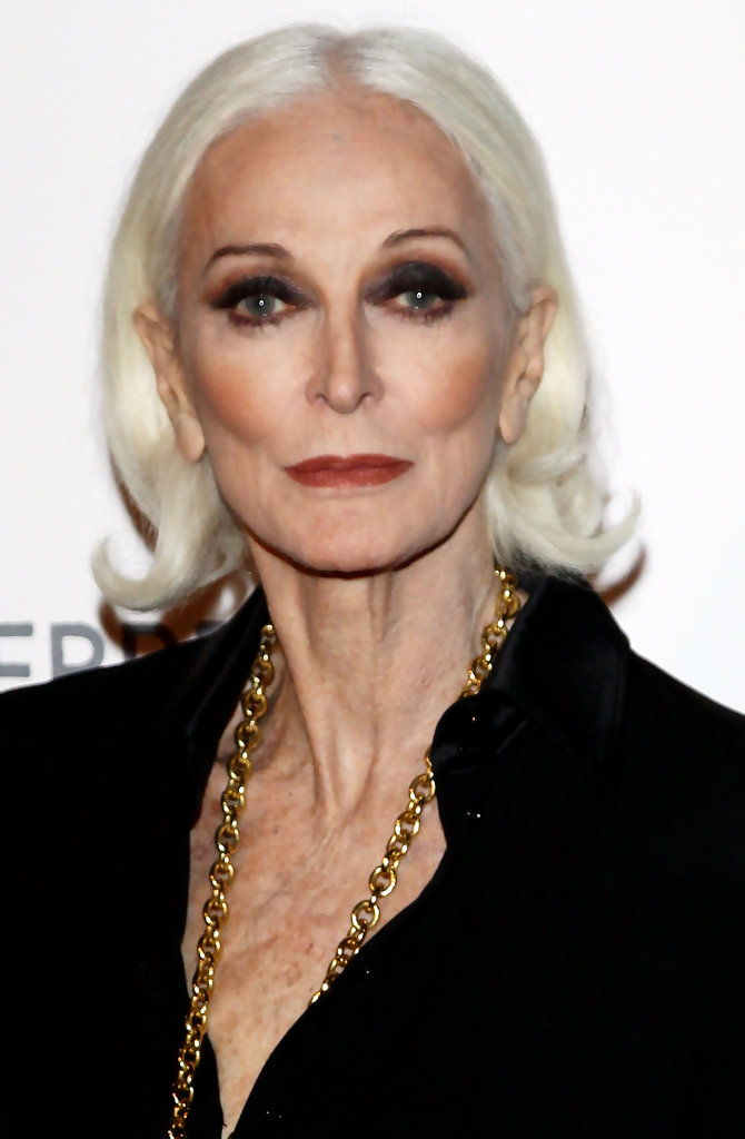 Carmen Dell Orefice Photos Photos Alberta Ferretti