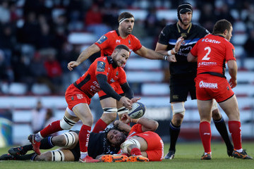 Alby Mathewson RC Toulon v Bath Rugby -  Champions Cup