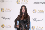 """Model Sofia Resing attends the Alcides & Rosaura (ARD) Foundations' """"A Brazilian Night"""" to Benefit Memorial Sloan Kettering Cancer Center (MSK) at Cipriani 42nd Street on September 7, 2017 in New York City."""