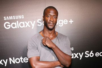 Aldis Hodge Samsung Celebrates The New Galaxy S6 edge+ And Galaxy Note5 in Los Angeles