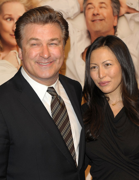 Alec Baldwin and Nicole Seidel