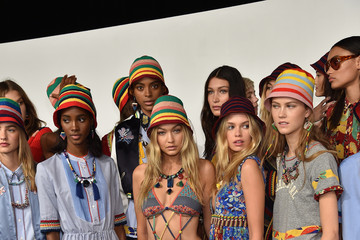 Alecia Morais Tommy Hilfiger Women's - Backstage - Spring 2016 New York Fashion Week: The Shows