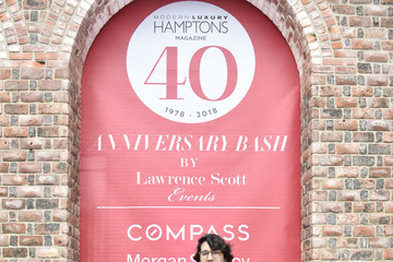 Alejandro Sanz Hamptons Magazine 40th Anniversary Bash By Lawrence Scott Events Presented By Compass