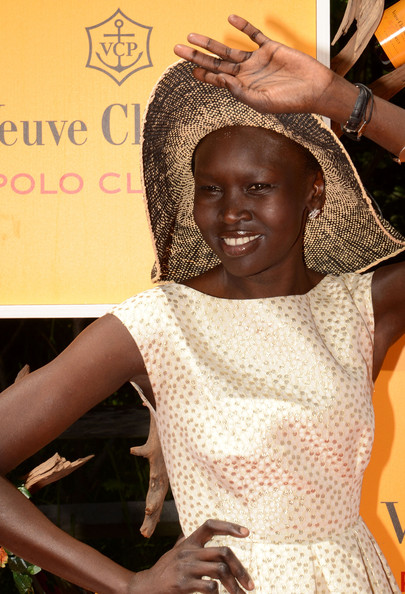 Alek Wek - The Fifth Annual Veuve Clicquot Polo Classic - Red Carpet Arrivals