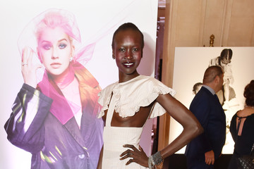 "Alek Wek Harper's BAZAAR Celebrates ""ICONS By Carine Roitfeld"" At The Plaza Hotel Presented By Infor, Estee Lauder, Saks Fifth Avenue, Fujifilm Instax, Genesis, And Stella Artois - Gallery"