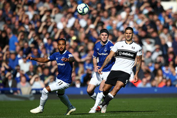 Aleksandar Mitrovic Everton FC vs. Fulham FC - Premier League