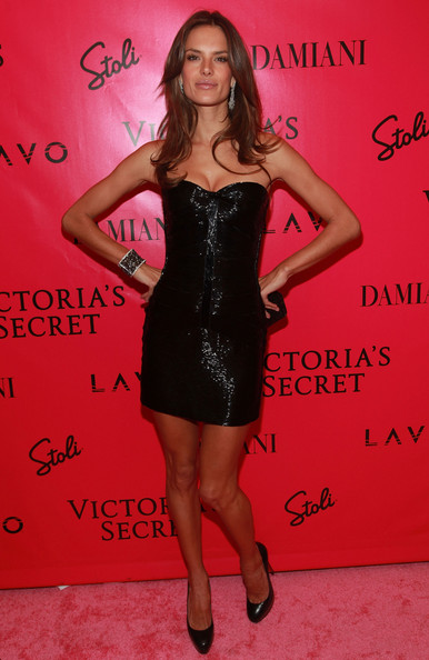 2010 Victoria's Secret Fashion Show - After Party [fashion model,little black dress,flooring,dress,cocktail dress,shoulder,leg,carpet,long hair,model,dress,alessandra ambrosio,supermodel,fashion,model,fashion model,party,party,victorias secret,victorias secret fashion show,alessandra ambrosio,victorias secret fashion show,victorias secret,model,fashion,supermodel,the victorias secret fashion show,little black dress,victorias secret fashion show 2010]