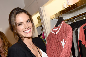 Alessandra Ambrosio Wildfox Flagship Store Launch Party