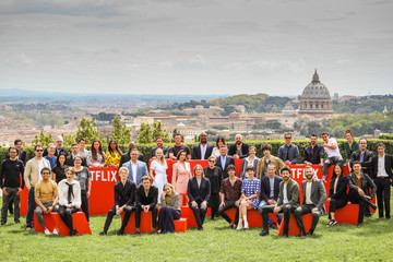 Alessandro Borghi Netflix See What's Next Event In Rome