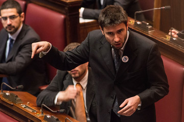 Alessandro Di Battista Italy's Parliament Holds First Session
