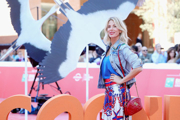 Alessia Marcuzzi 'Storks - Cicogne in Missione' Red Carpet - 11th Rome Film Festival