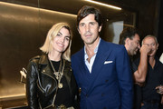 Delfina Blaquier and Nacho Figueras attend the Alevi Milano NYFW Dinner on September 09, 2019 in New York City.