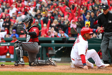 Alex Avila  Arizona Diamondbacks  v St Louis Cardinals