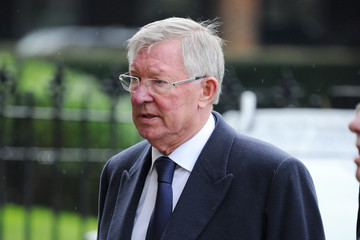 Alex Ferguson The Funeral Of Former England Football Manager Graham Taylor