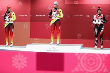 Alex Gough Luge - Winter Olympics Day 4
