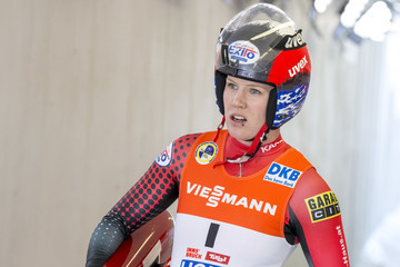 Alex Gough 47th Luge World Championships - Day 2