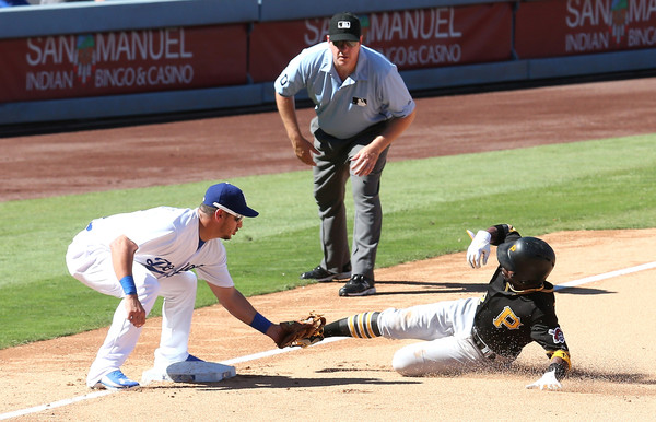 Pittsburgh Pirates v Los Angeles Dodgers