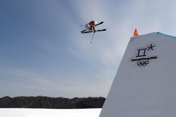 Alex Hall Freestyle Skiing - Winter Olympics Day 9