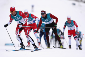 Alex Harvey Cross-Country Skiing - Winter Olympics Day 2