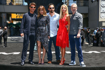 Alex Kurtzman Universal Celebrates 'The Mummy Day' With 75-Foot Sarcophagus Takeover at Hollywood and Highland