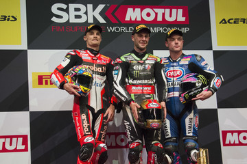 Alex Lowes FIM Superbike World Championship in Qatar - Race 2