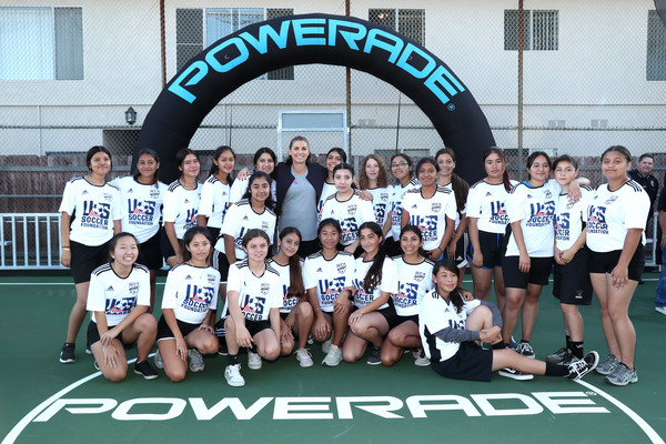 POWERADE 'Power Pitch' Grand Opening With Alex Morgan
