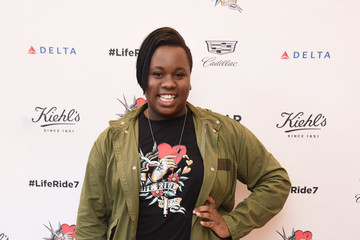 Alex Newell Kiehl's National LifeRide for amfAR Celebrates at NYC Flagship Store