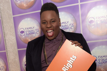 Alex Newell Family Equality Council's 2015 Los Angeles Awards Dinner - Red Carpet