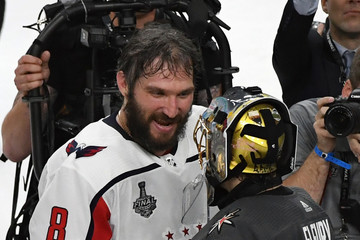 Alex Ovechkin Marc-Andre Fleury 2018 NHL Stanley Cup Final - Game Five