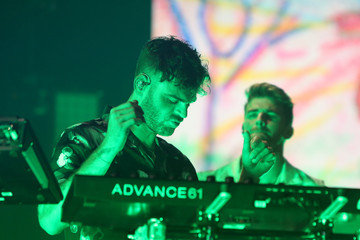 Alex Pall Andrew Taggart iHeartRadio LIVE With The Chainsmokers At The iHeartRadio Theater Los Angeles