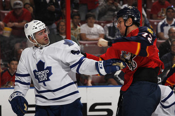 Alex Petrovic Toronto Maple Leafs v Florida Panthers