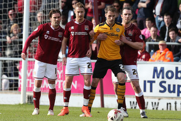 Alex Rodman Northampton Town v Newport County - Sky Bet League Two