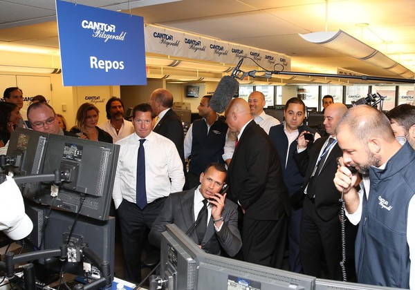 Annual Charity Day Hosted by Cantor Fitzgerald and BGC - Cantor Fitzgerald Office - Inside