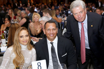 Alex Rodriguez Jennifer Lopez 33th Annual Great Sports Legends Dinner To Benefit The Buoniconti Fund To Cure Paralysis - Dinner