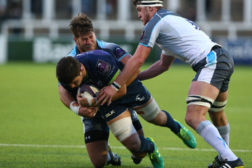 Alex Rogers Newcastle Falcons v Connacht Rugby - European Rugby Challenge Cup