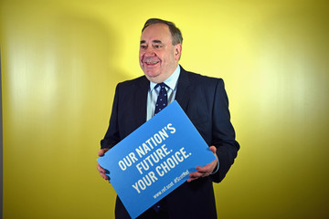 Alex Salmond The Scottish National Party 2017 Spring Conference Day Two