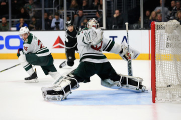 Alex Stalock Minnesota Wild v Los Angeles Kings