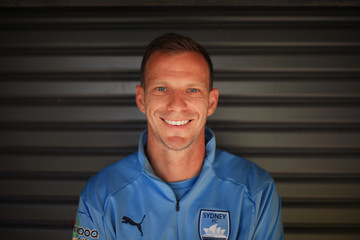 Alex Wilkinson Sydney FC Media Opportunity & Training Session