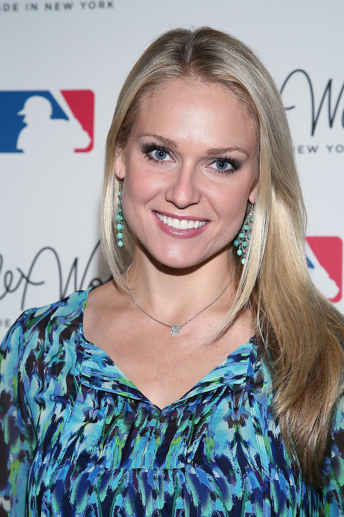 Heidi Watney In Alex Woo And The Mlb Launch New Jewelry Line Zimbio