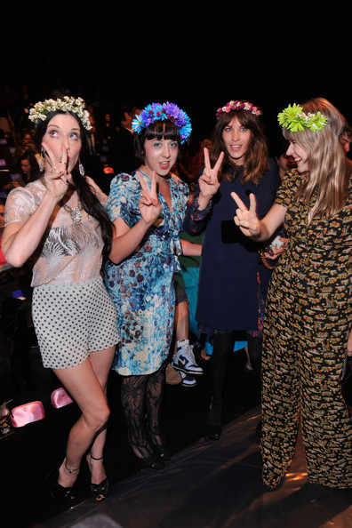 Anna Sui - Front Row - Spring 2013 Mercedes-Benz Fashion Week