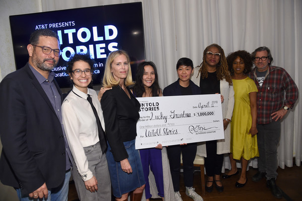 AT&T And Tribeca Host 2nd Annual Luncheon For 'AT&T Presents: Untold Stories. An Inclusive Film Program In Collaboration With Tribeca'